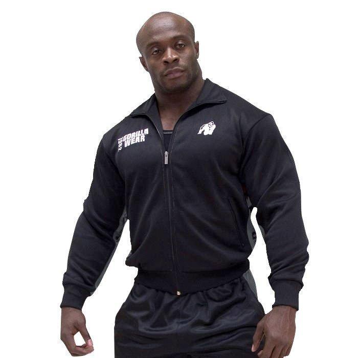 Gorilla Wear Track Jacket black/asphalt XXL/XXXL