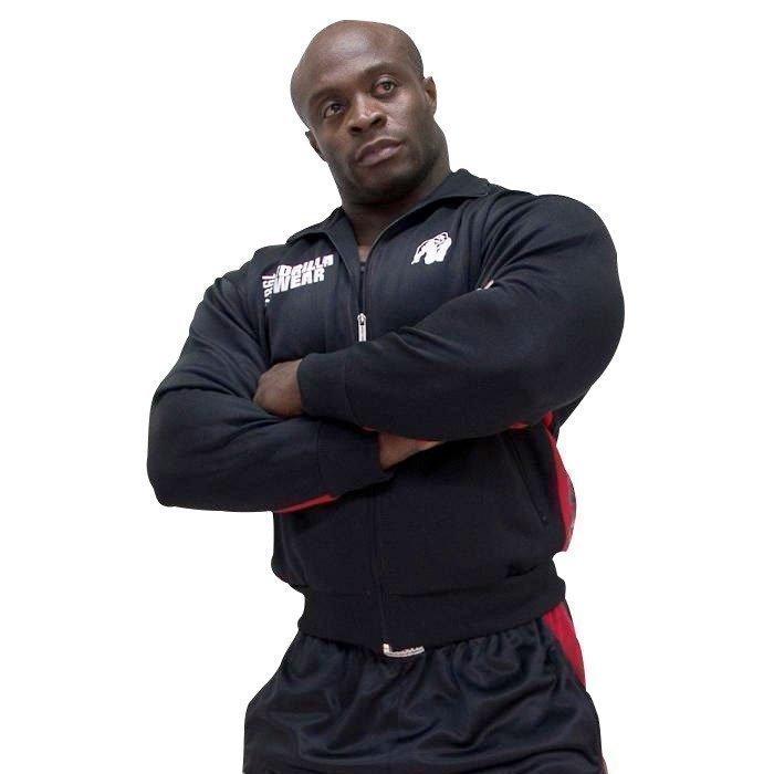 Gorilla Wear Track Jacket black/red L/XL