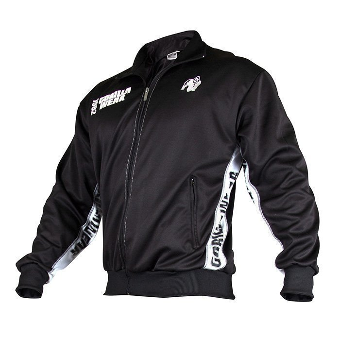 Gorilla Wear Track Jacket black/white S/M