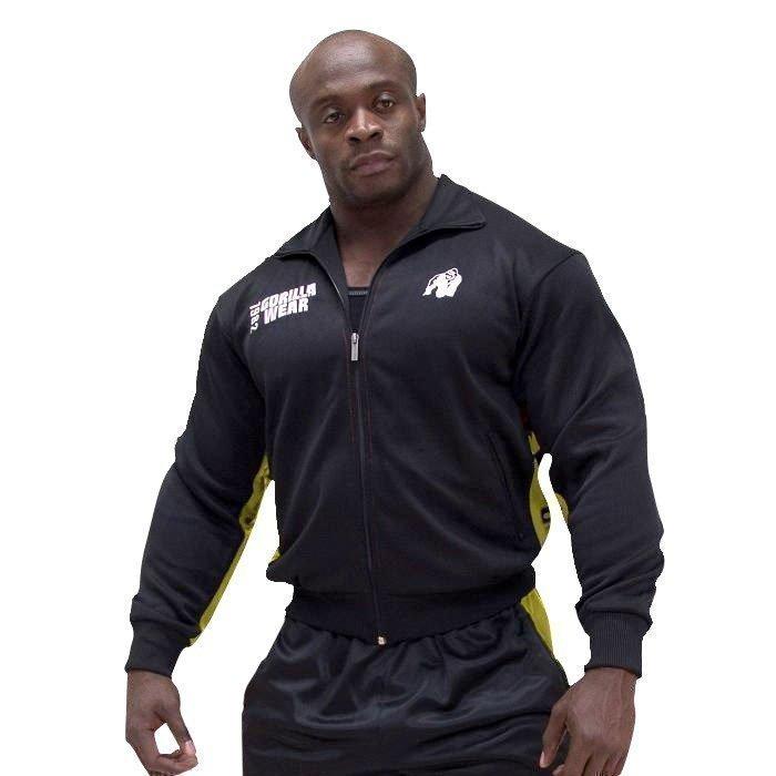 Gorilla Wear Track Jacket black/yellow XXL/XXXL