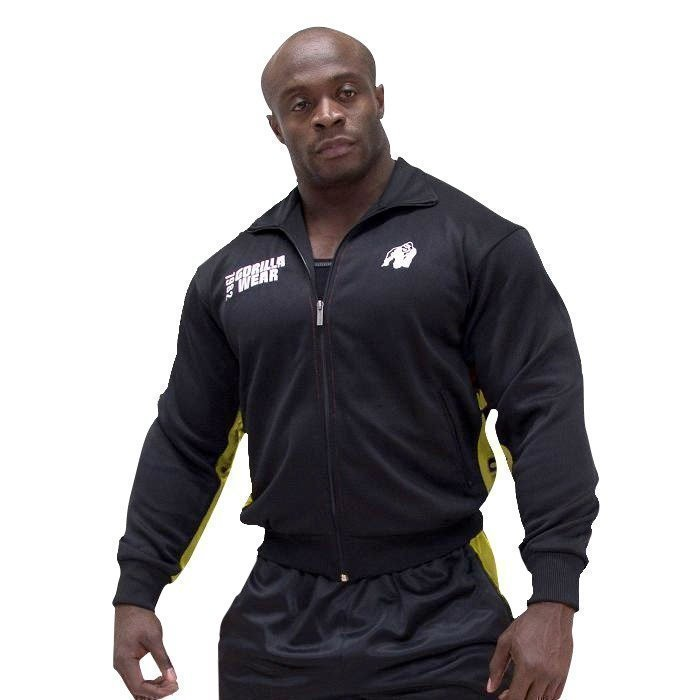 Gorilla Wear Track Jacket black/yellow
