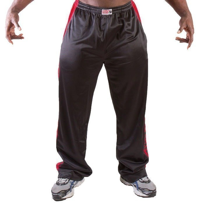 Gorilla Wear Track Pants black/red L/XL