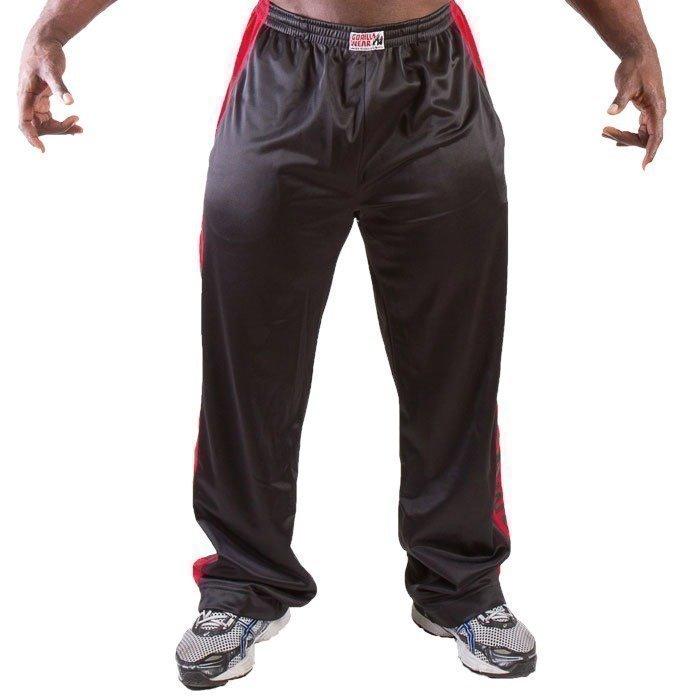 Gorilla Wear Track Pants black/red S/M
