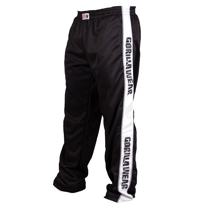 Gorilla Wear Track Pants black/white S/M