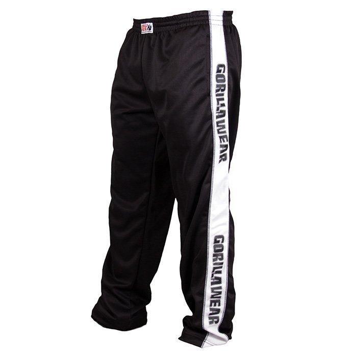 Gorilla Wear Track Pants black/white S/M