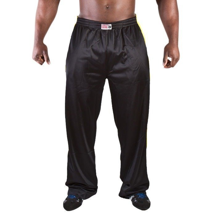 Gorilla Wear Track Pants black/yellow S/M