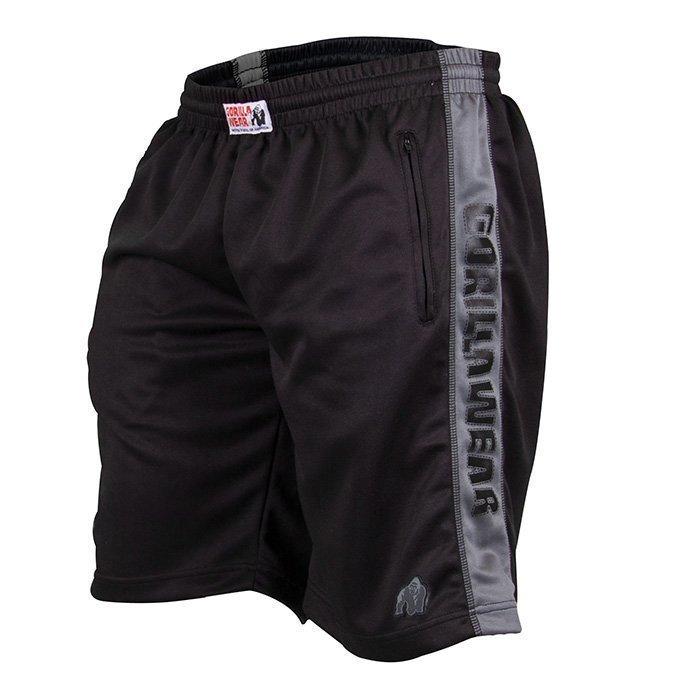 Gorilla Wear Track Shorts black/grey L/XL
