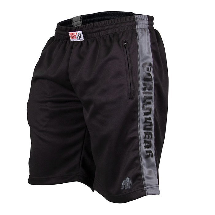 Gorilla Wear Track Shorts black/grey