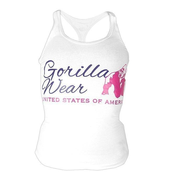 Gorilla Wear Women's Classic Tank Top white L