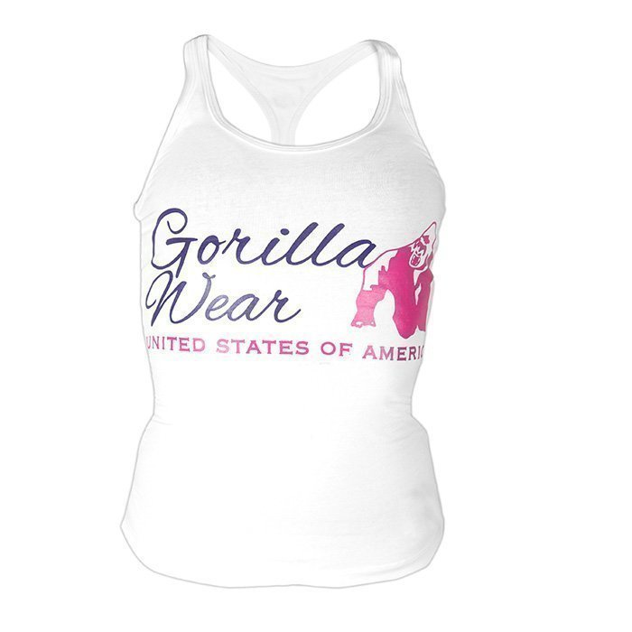 Gorilla Wear Women's Classic Tank Top white S