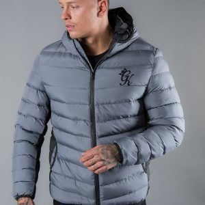 Gym King Bubble Jacket Harmaa