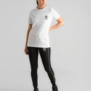 Gym King Core Logo T-Shirt Valkoinen