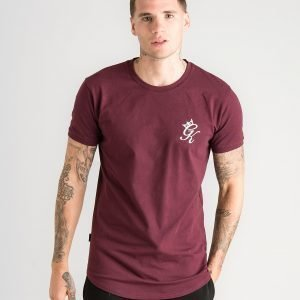 Gym King Core T-Shirt Burgundy