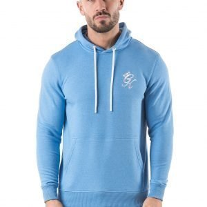 Gym King Fleece Overhead Hoodie Sininen