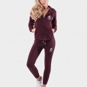 Gym King Fleece Track Pants Punainen