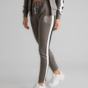 Gym King Panel Poly Track Pants Harmaa