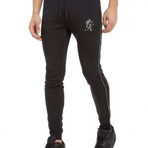 Gym King Poly Reflective Track Pants Musta