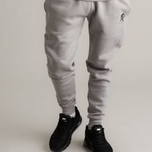 Gym King Small Logo Track Pants Harmaa