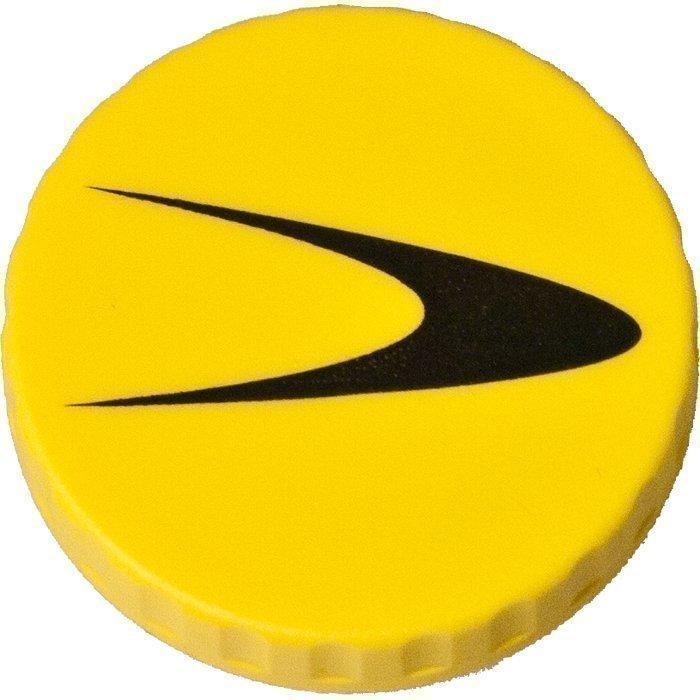 Gymgrossisten Ekstrakorkki Keltainen Fitnesstukku shaker