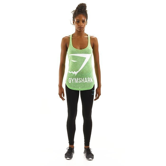 Gymshark Emblem Tank Top Green