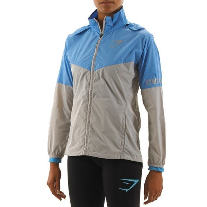 Gymshark Fit Hydra Running Jacket Powder Blue XS