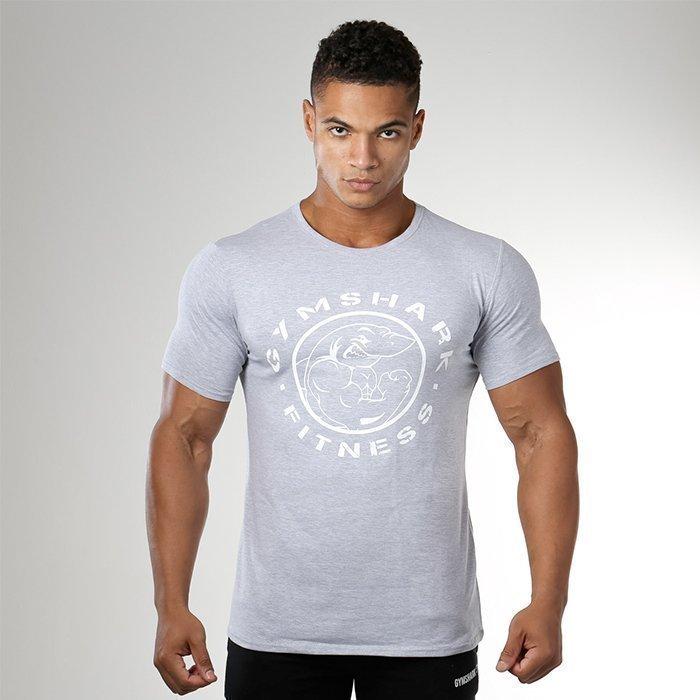 Gymshark Fitness Gym Tee Grey Melange