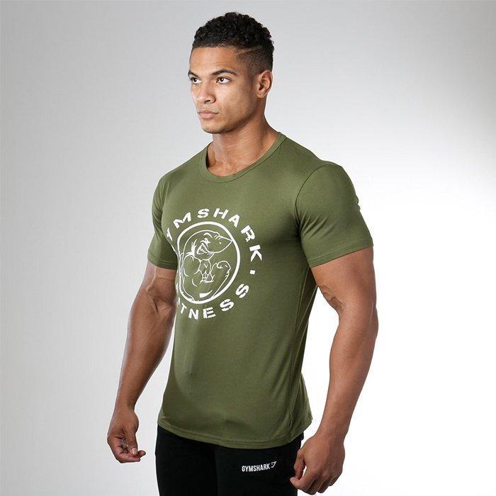 Gymshark Fitness Gym Tee Khaki