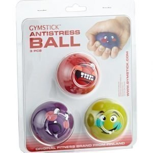 Gymstick Anti Stress Pallo 3 Kpl
