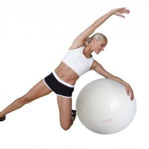 Gymstick Emotion Body Jumppapallo Valkoinen 75 Cm