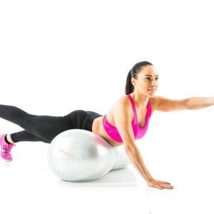 Gymstick Emotion Oval Exercise Ball Jumppapallo