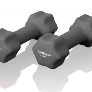 Gymstick Neoprene Käsipainot Harmaa 4 Kg 2 Kpl