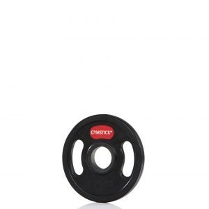 Gymstick Rubber Weight Plate Levypaino 1