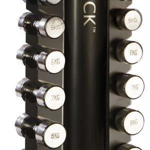 Gymstick Tower Rack Käsipainoteline