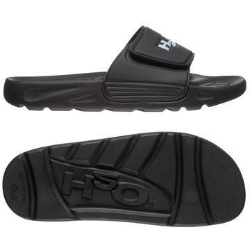 H2O Suihkusandaalit Velcro Musta