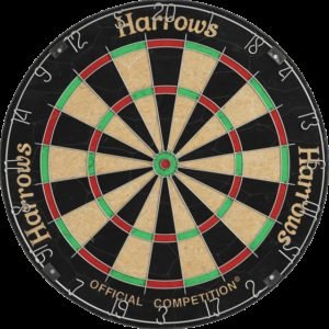 Harrows Dartboard Official Competition Darts Taulu