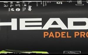 Head Padel Pro Padel Pallo 3-Pakkaus