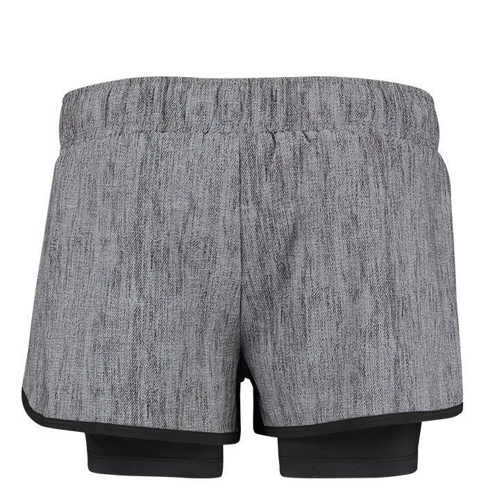 Hummel Amy Shorts Dark Grey Melange XS