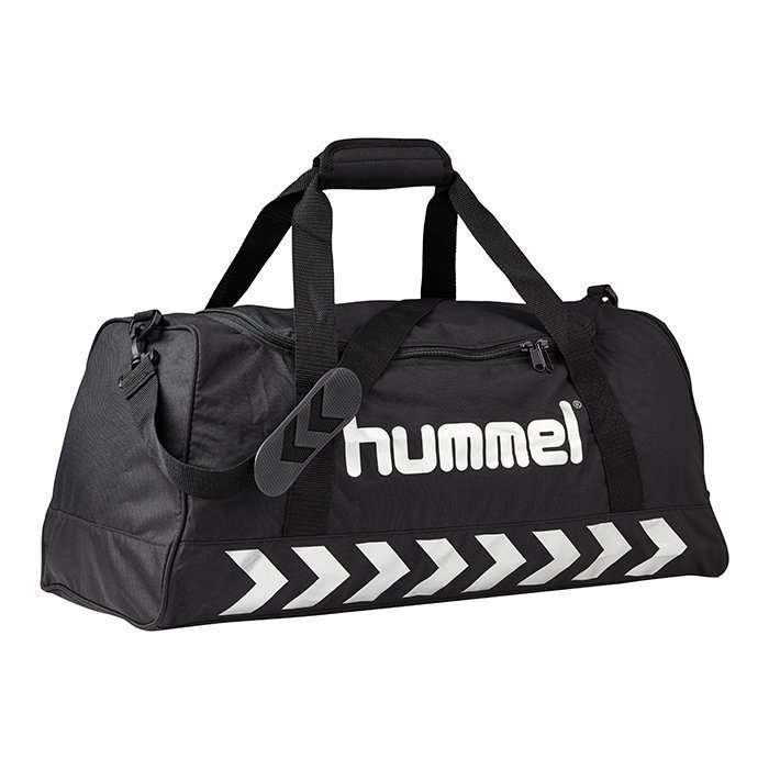 Hummel Authentic Sports bag Black/Silver