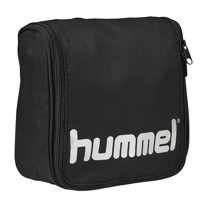 Hummel Authentic Toiletry Bag Black/Silver