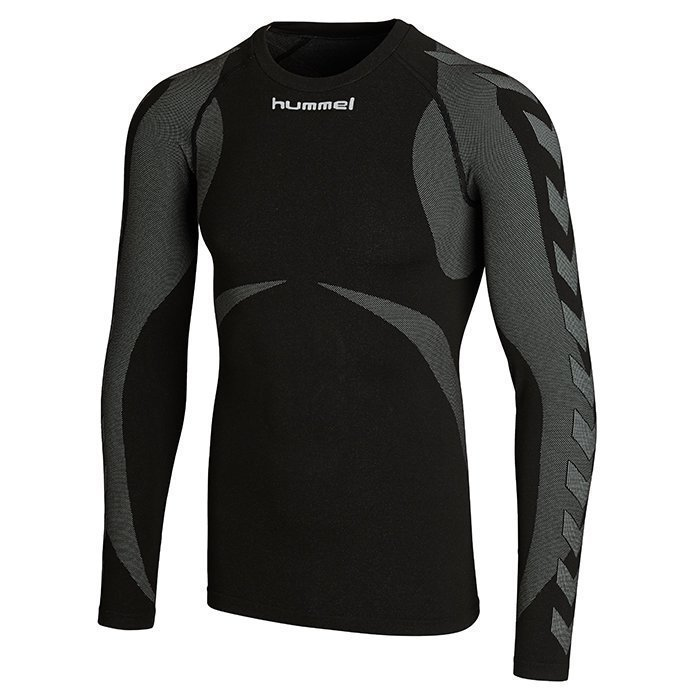 Hummel Baselayer Jersey Longsleeve Black/Dark grey