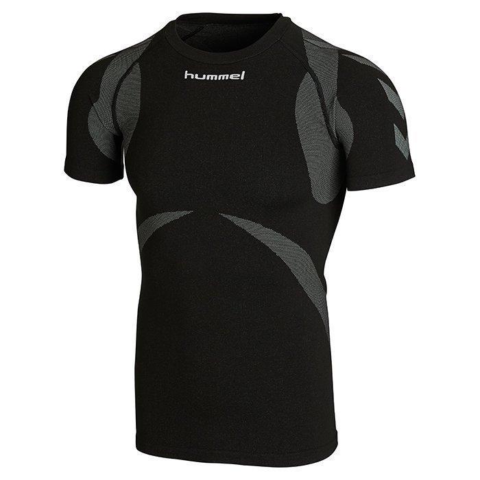 Hummel Baselayer Jersey Shortsleeve Black/Dark grey