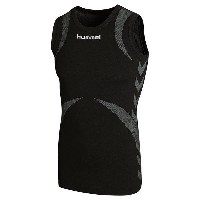 Hummel Baselayer Jersey Sleeveless Black/Dark grey XS/S