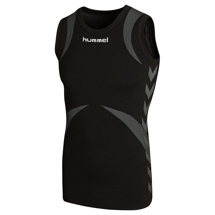 Hummel Baselayer Jersey Sleeveless Black/Dark grey