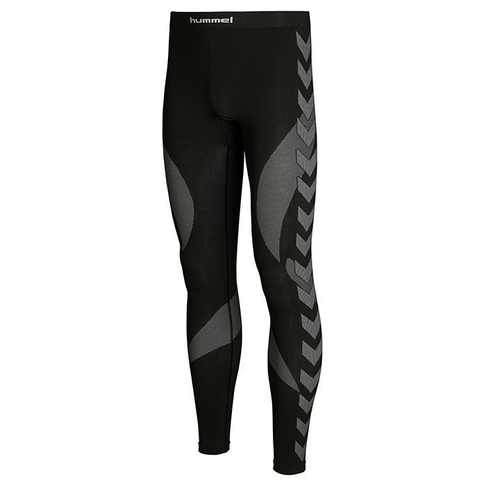 Hummel Baselayer Leggings Black/Dark grey