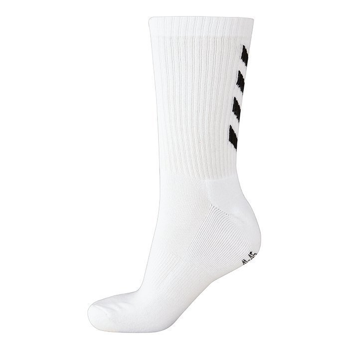 Hummel Fundamental 3-Pack Sock White 46-48