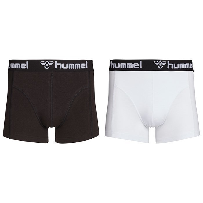 Hummel His Boxers 2-Pack Black/White L