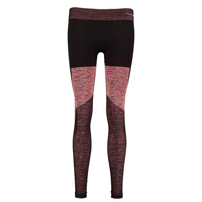 Hummel Lea Seamless Tights Fiery Coral Melange