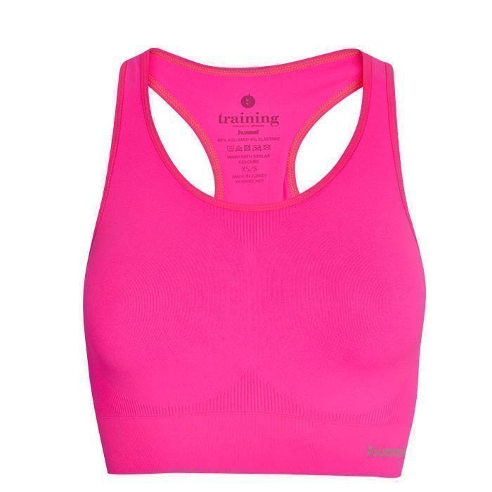 Hummel Sue Seamless Sports Top Knockout Pink