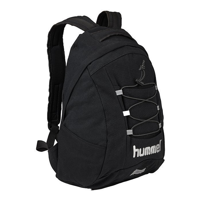 Hummel Tech Back Pack Black/Silver