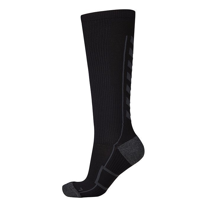 Hummel Tech Indoor Sock High Black/Dark Slate